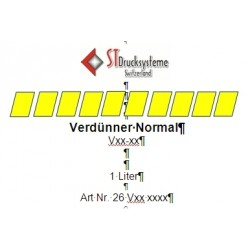 SDU 400 Verdünner normal V40-11