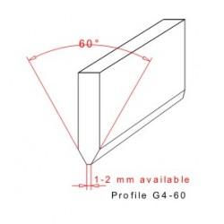 Rakelgummi 2000-50-10 Profil G4-60