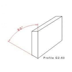 Rakelgummi 5000-40-8 Profil G2-60