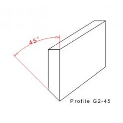 Rakelgummi 8000-25-5 Profil G2-60