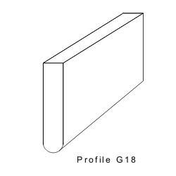 Rakelgummi 8000-25-5 Form G18