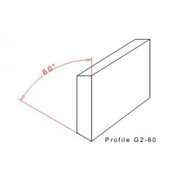 Rakelgummi 8000-50-10 Form G2-60