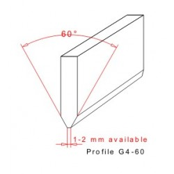 Rakelgummi 7000-40-8 Form G4-60
